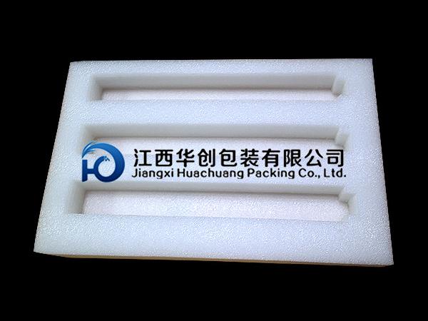 新余工艺品包装EPE珍珠棉-白色托盘