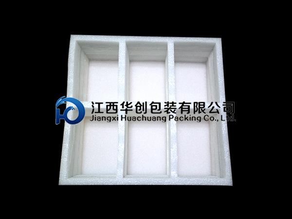 新余工艺品包装EPE珍珠棉-白色方格