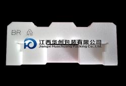 易碎品EPE珍珠棉定制-白色加重料带丝印型材