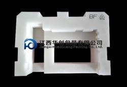 汽车LED灯新万博体育yEPE万博网页手机-白色加重料带丝印异形材