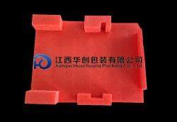 防震缓冲EPE万博网页手机-红色异形材