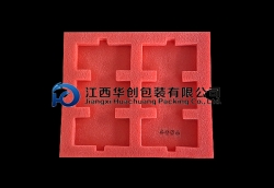 五金工具包装EPE万博网页手机-红色托盘