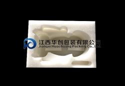 玻璃器具包装EPE万博网页手机 -白色异形盒
